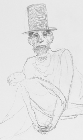 Lincoln in the Bardo is a novel written by George Saunders. Drawings by Joost Witte inspired by the novel Lincoln in the Bardo.