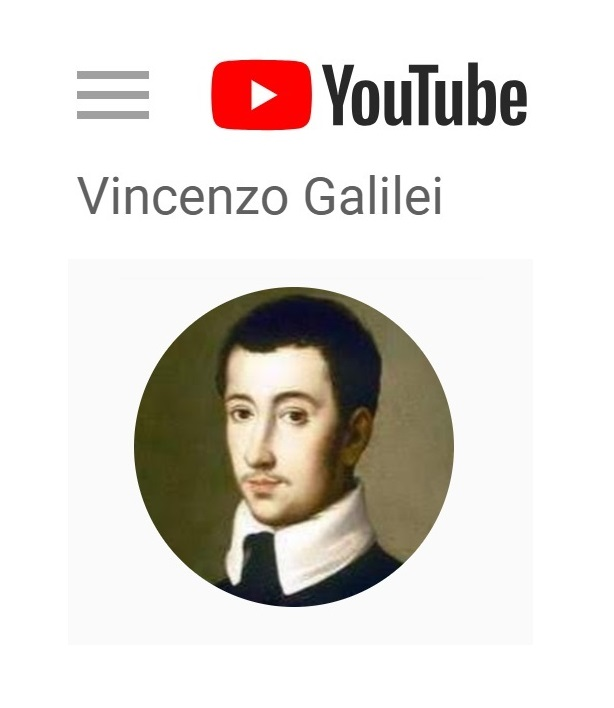 Youtube channel Vincenzo Galilei
