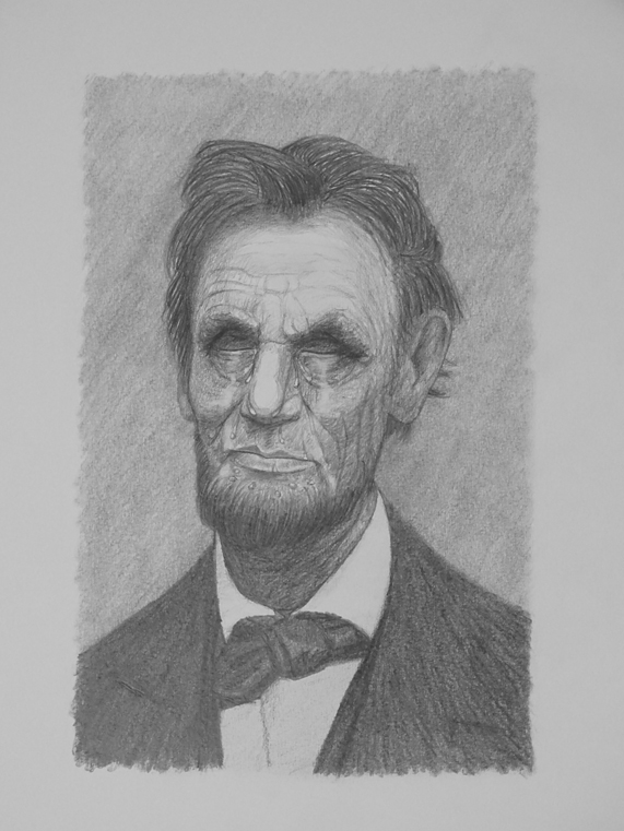 Abraham Lincoln weeping - Lincoln in the Bardo