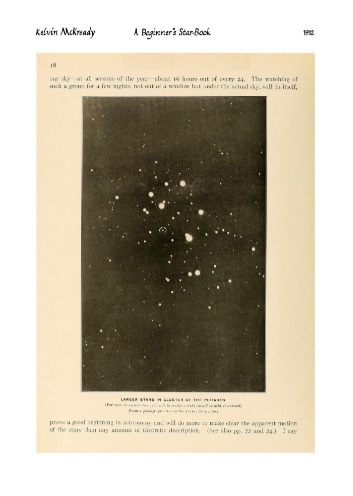 "Kelvin McKready ""A beginner's star-book; an easy guide to the stars and to the astronomical uses of the opera-glass, the field-glass and the telescope"" (1912)"